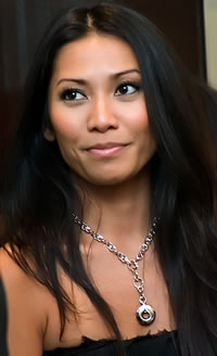 Anggun was born in Jakarta,