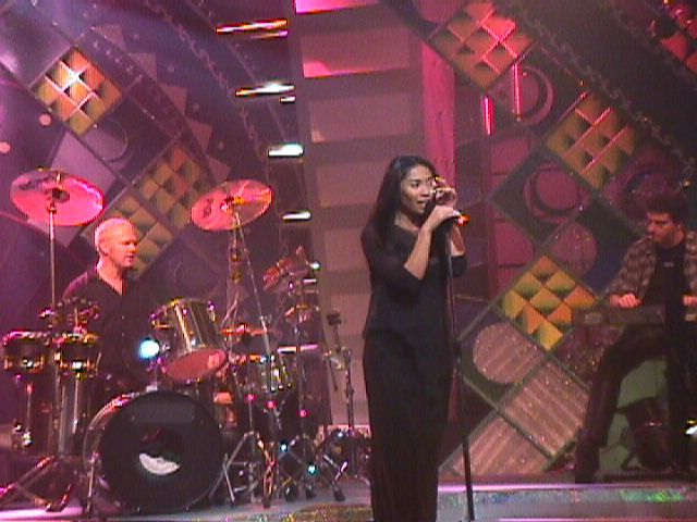 Anggun in Malaysian TV Show of the January 29th, 1999