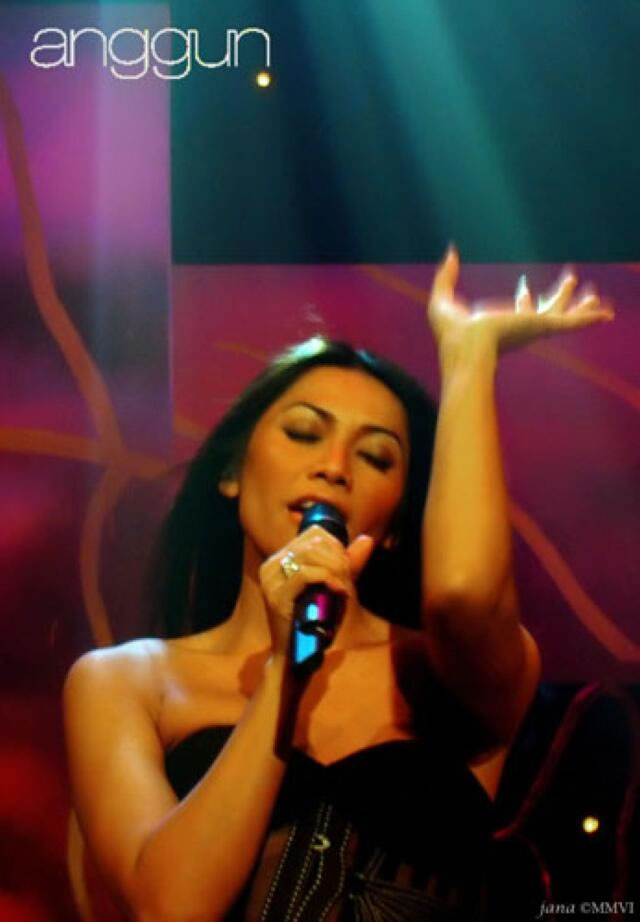 Anggun at Indosiar TV
