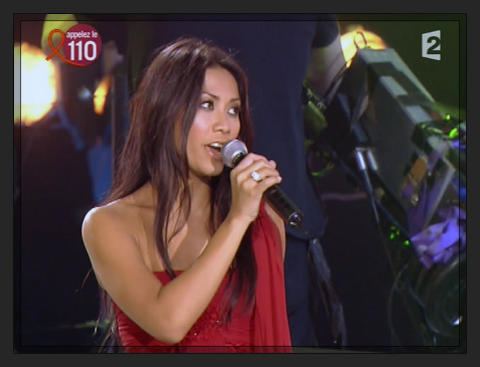 Anggun in TV